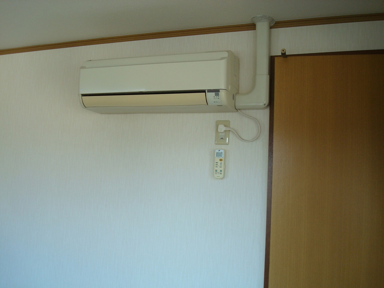 各部屋エアコン付き